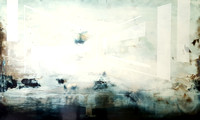 Chasing butterflies  60x100cm  oil on wood